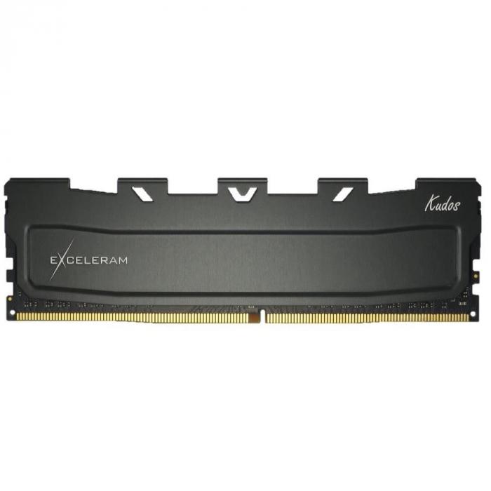 Memorie DDR4 Exceleram 8GB(1x8GB) 2400 Black Kudos,CL15,1.20V,cu radiator [0]
