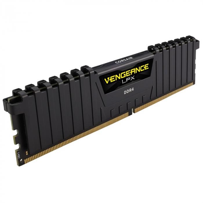 Memorie Corsair Vengeance LPX Black 8GB DDR4 3000MHz CL16 1