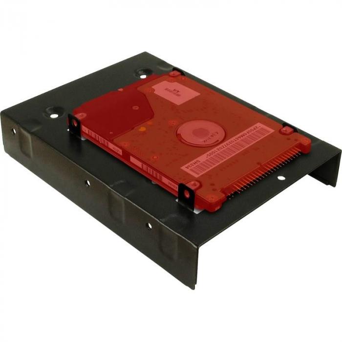 Accesoriu carcasa Inter-Tech Adaptor HDD/SSD 3.5 inch la 2x 2.5 inch [3]