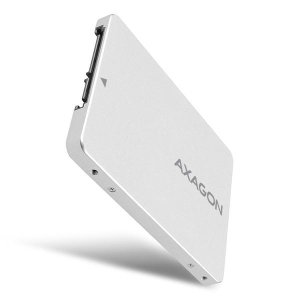 Adaptor 2.5 inch SATA la M.2 SATA SSD Axagon [5]