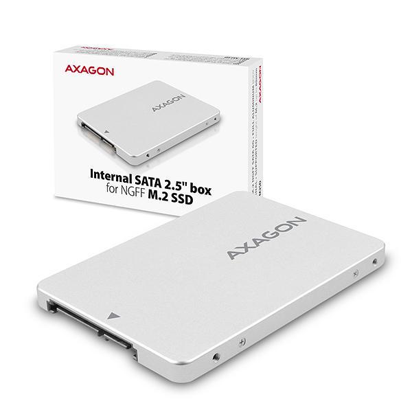Adaptor 2.5 inch SATA la M.2 SATA SSD Axagon [4]