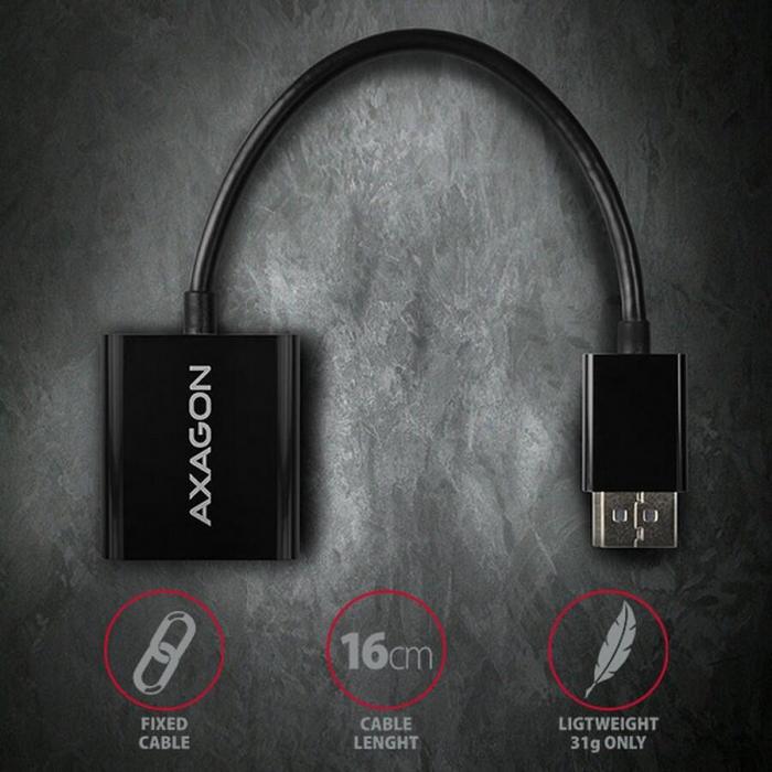 Adaptor Display port la VGA RVD-VGN [3]
