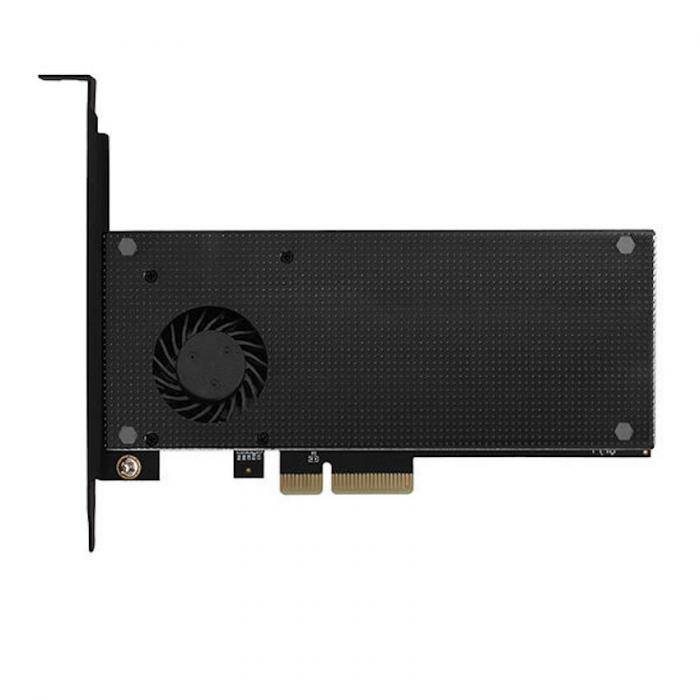 Adaptor PCI-Express 3.0 x4 la dual M.2 SSD, Active cooler [0]