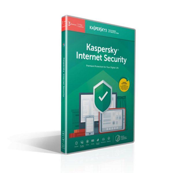 Antivirus Kaspersky Internet Security Multi Device, 3 Dispozitive, 1 An, Licenta de reinnoire, Retail [1]