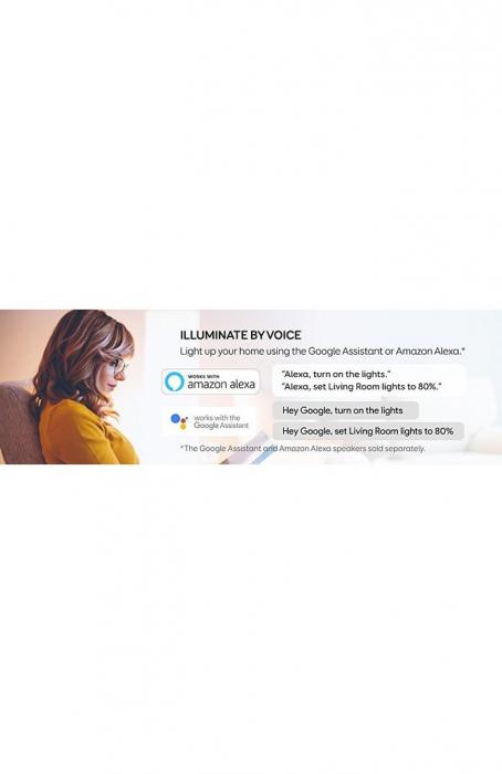 Bec inteligent Anker Bec Wi-Fi Eufy Lumos E26 White 8