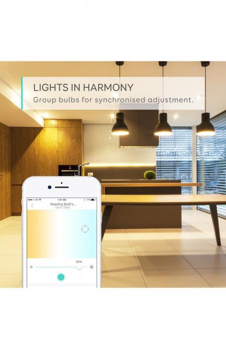 Bec inteligent Anker Bec Wi-Fi Eufy Lumos E26 White 2