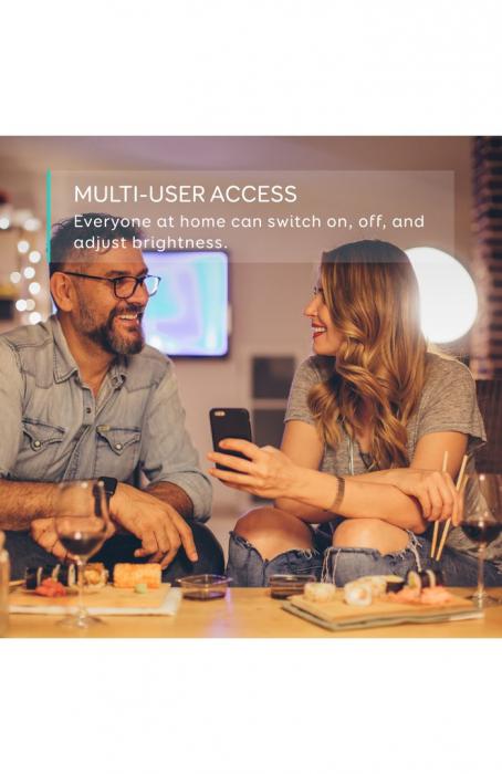 Bec inteligent Anker Bec Wi-Fi Eufy Lumos E26 White 3