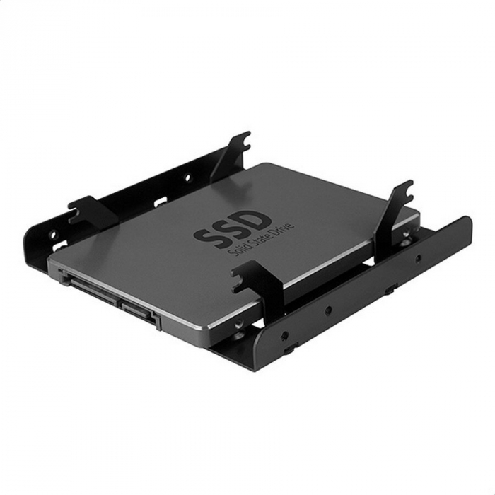Bracket 2x 2.5 Inch HDD/SSD la 3.5 Inch, Aluminiu [2]