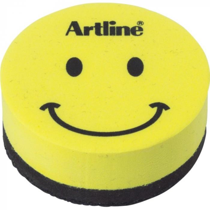 Burete magnetic ARTLINE Smiley, pentru table magnetice [0]