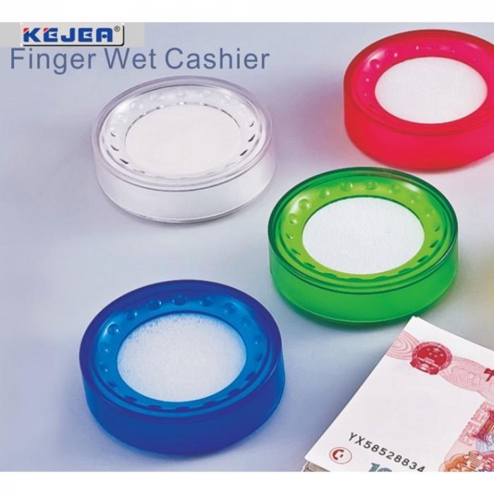 Buretiera D5cm, KEJEA - plastic transparent rosu [0]
