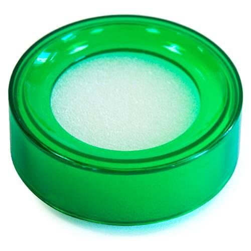 Buretiera D5cm, KEJEA - plastic transparent verde 0
