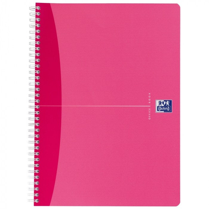 Caiet cu spirala A4, OXFORD Office My Style, 90 file - 90g/mp, Scribzee, coperta carton - dictando 0