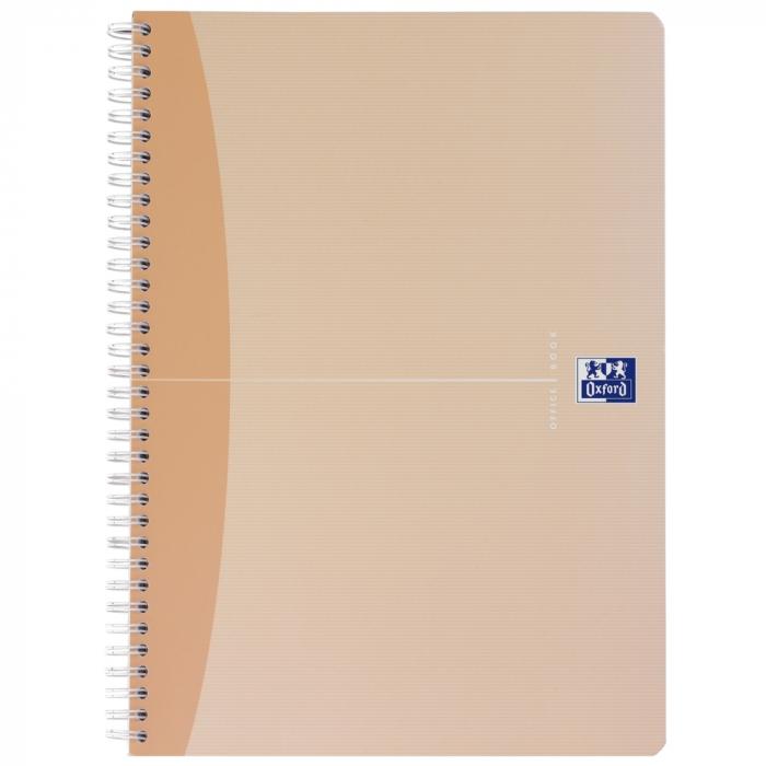 Caiet cu spirala A4, OXFORD Office My Style, 90 file - 90g/mp, Scribzee, coperta carton - mate [0]