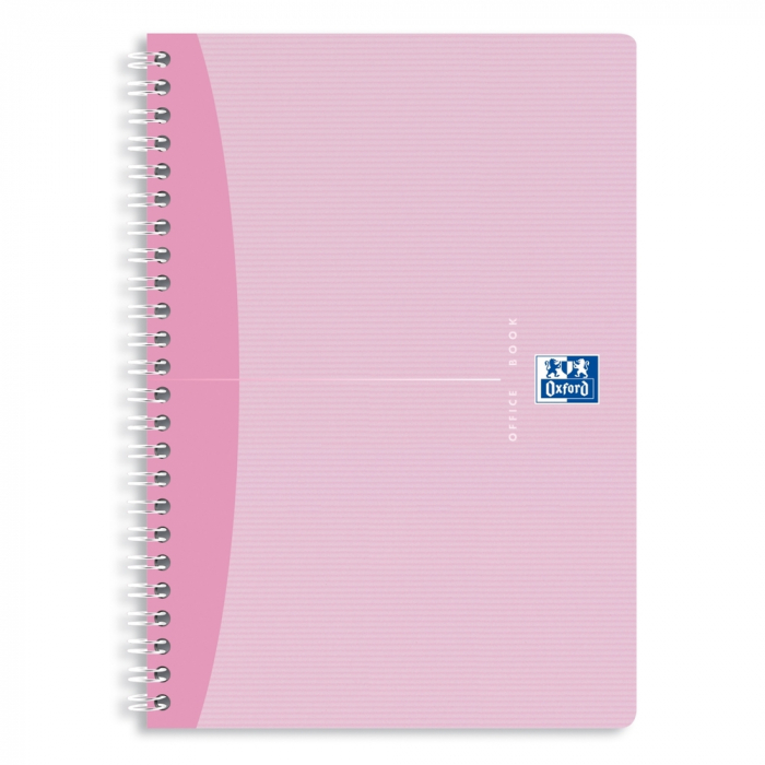 Caiet cu spirala A5, OXFORD Office My Style, 90 file - 90g/mp, Scribzee, coperta carton - dictando 0