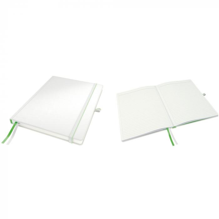 Caiet de birou LEITZ Complete, A4, dictando - alb 0