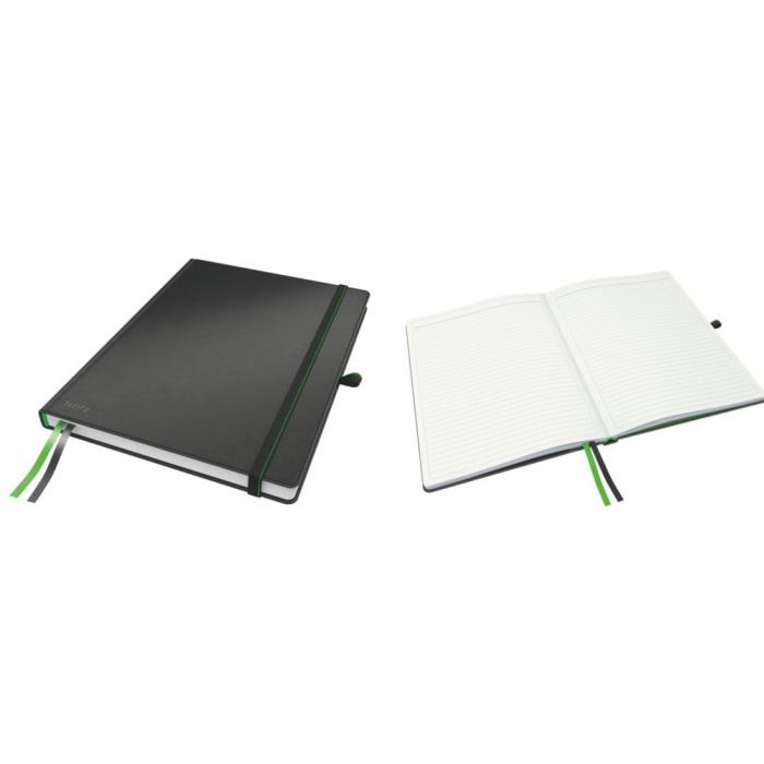 Caiet de birou LEITZ Complete, A4, dictando - negru 0