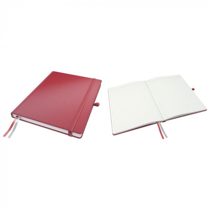 Caiet de birou LEITZ Complete, A4, dictando - rosu [0]