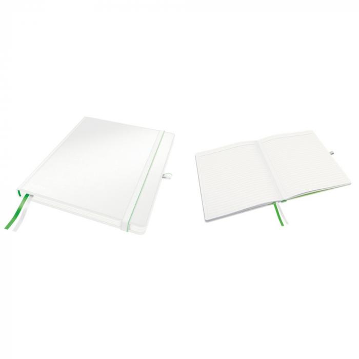 Caiet de birou LEITZ Complete, format iPad, dictando - alb [0]