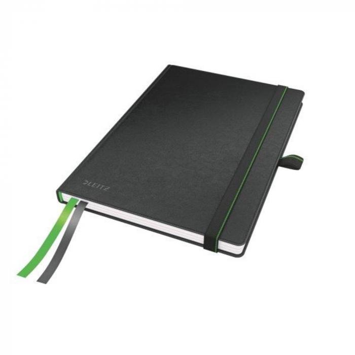 Caiet de birou LEITZ Complete, A5, dictando - negru 0