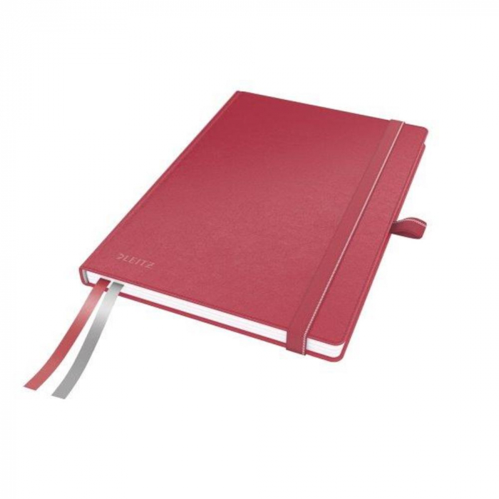 Caiet de birou LEITZ Complete, A5, matematica - rosu 0