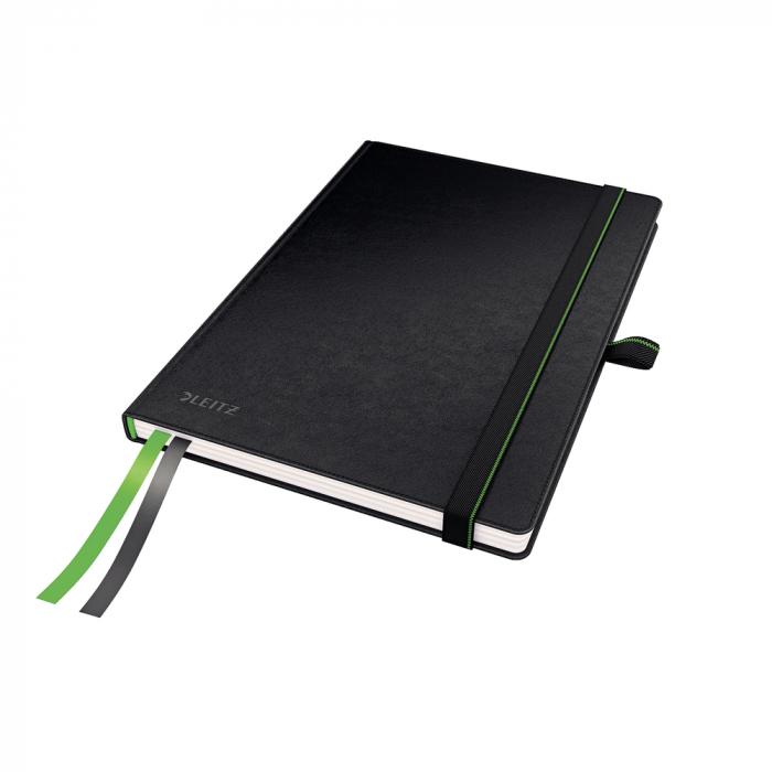 Caiet de birou LEITZ Complete, A5, velin - negru 0