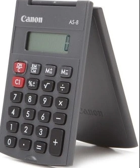 Calculator 8 digit`s AS-8 Canon [1]