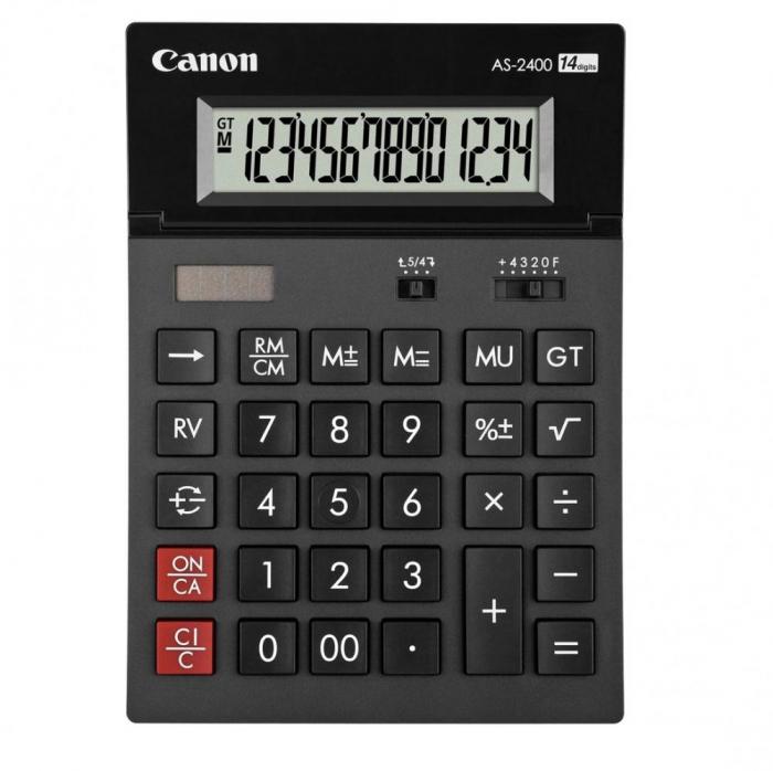 Calculator de birou 14 cifre Canon AS-2400 [0]