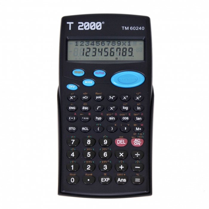 Calculator stiintific T2000, model TM60240, 12 digit's 0
