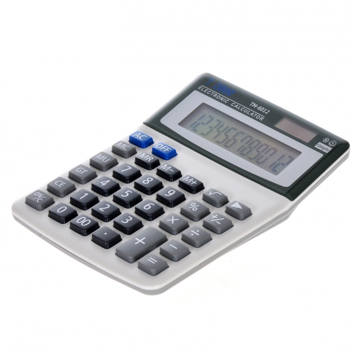 Calculator T2000, model TM6012, 12 digit's 1
