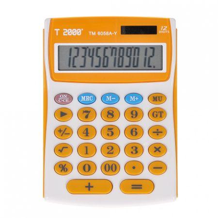 Calculator T2000, model TM6058, 12 digit's 2