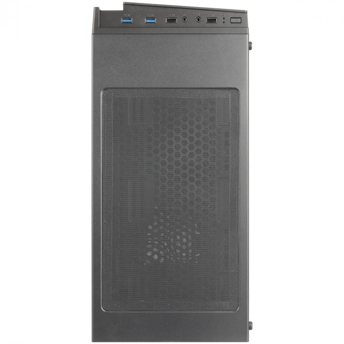 Carcasa ABKONCORE Cronos 710S Black, ATX Mid Tower, panou sticla securizata, LED RGB Strip, RGB fan, fara sursa [7]
