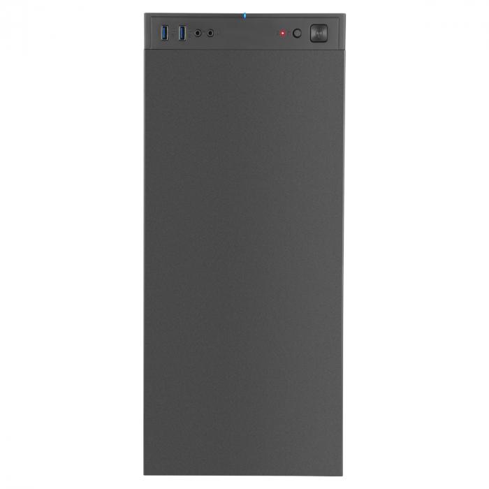 Carcasa ABKONCORE Cronos Zero Noise Mini, Mini Tower, antifonata, neagra, fara sursa [5]