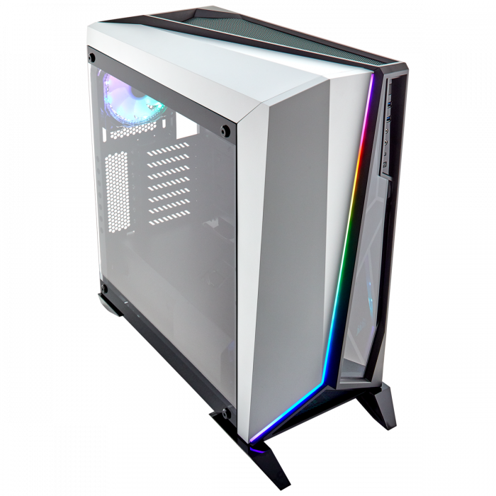 Carcasa Carbide Series OMEGA RGB Mid-Tower Tempered Glass Alba 0