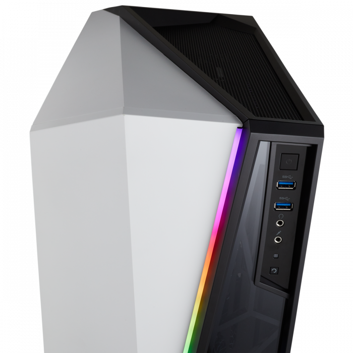 Carcasa Carbide Series OMEGA RGB Mid-Tower Tempered Glass Alba 6
