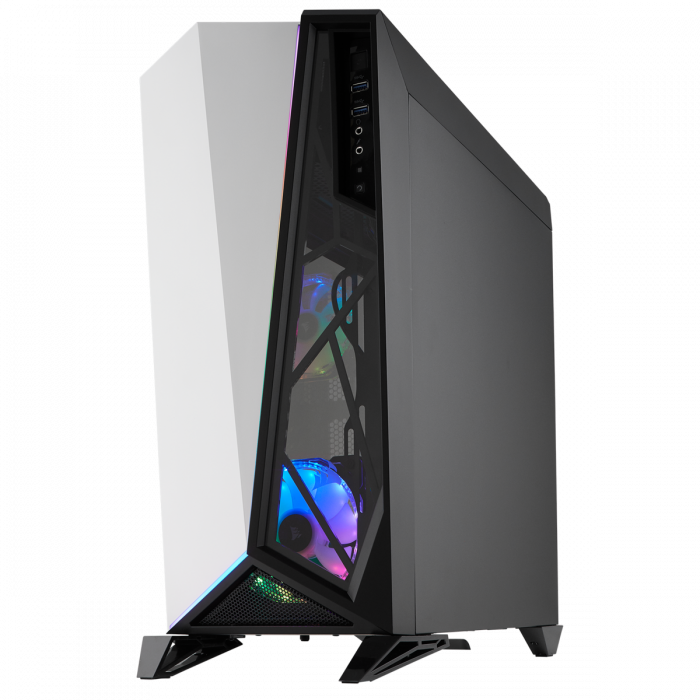Carcasa Carbide Series OMEGA RGB Mid-Tower Tempered Glass Alba 3