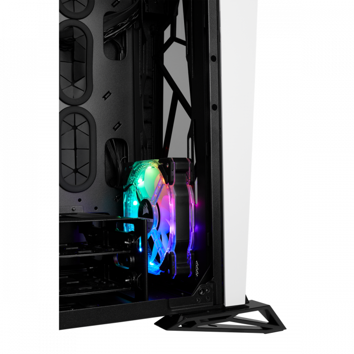 Carcasa Carbide Series OMEGA RGB Mid-Tower Tempered Glass Alba 11