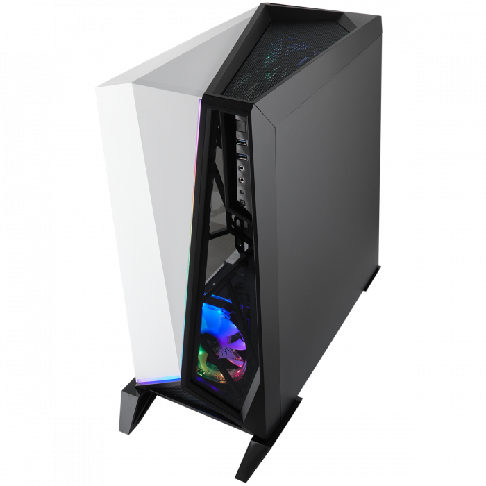 Carcasa Carbide Series OMEGA RGB Mid-Tower Tempered Glass Alba 2