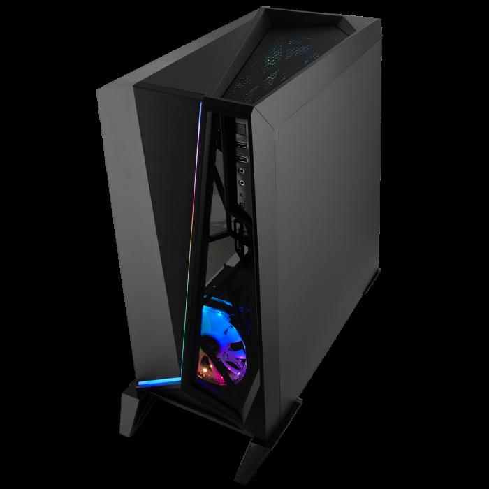 Carcasa Carbide Series OMEGA RGB Mid-Tower Tempered Glass Neagra [2]