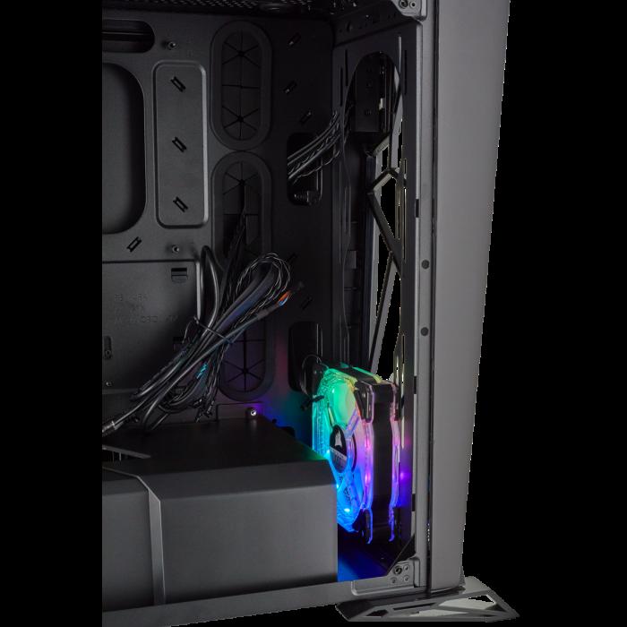Carcasa Carbide Series OMEGA RGB Mid-Tower Tempered Glass Neagra [12]