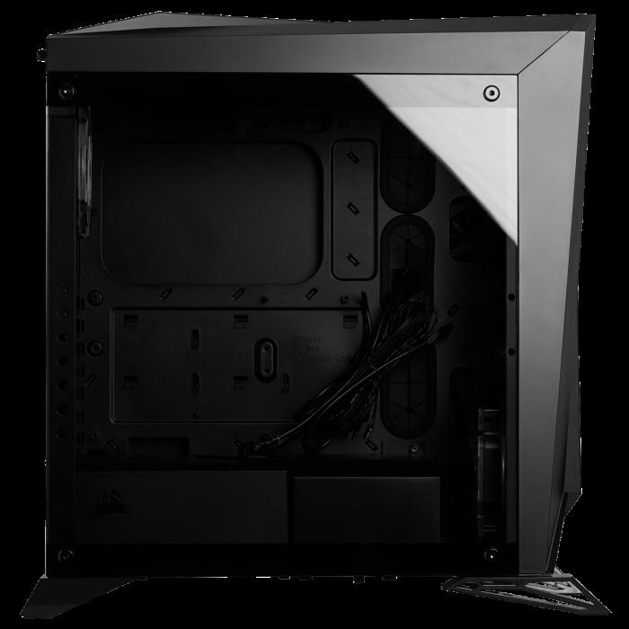 Carcasa Carbide Series OMEGA RGB Mid-Tower Tempered Glass Neagra [8]