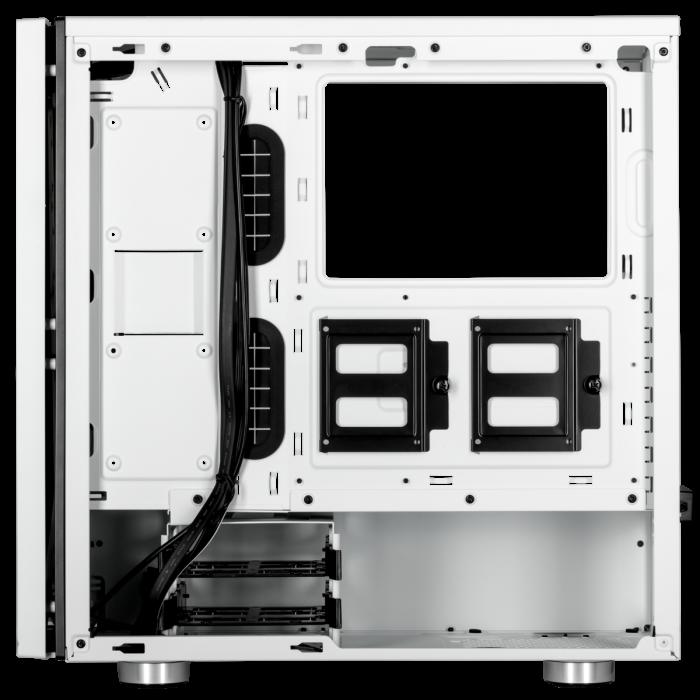 Carcasa Carbide SPEC-06 RGB Tempered Glass Alba [6]