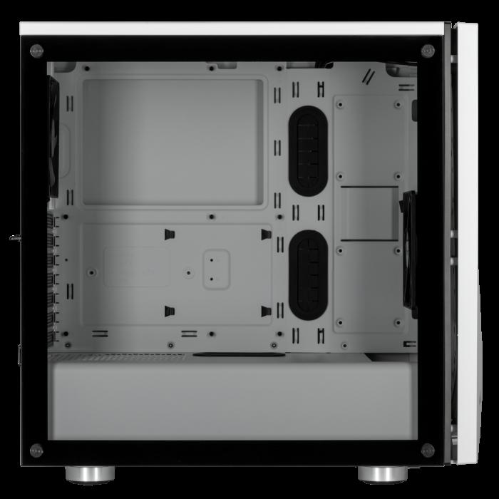 Carcasa Carbide SPEC-06 RGB Tempered Glass Alba [3]