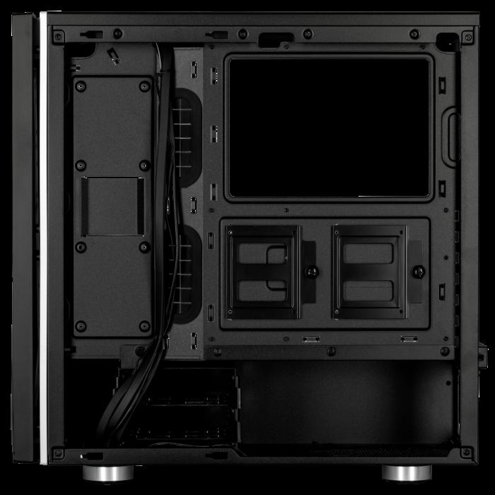 Carcasa Carbide SPEC-06 RGB Tempered Glass Neagra [5]