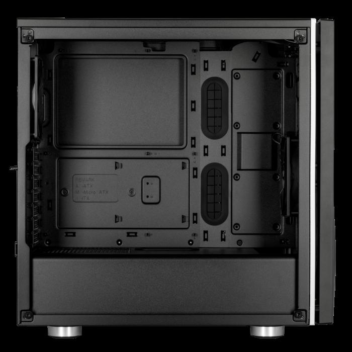 Carcasa Carbide SPEC-06 RGB Tempered Glass Neagra [3]