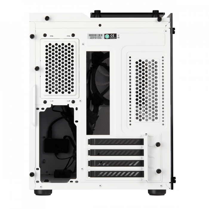 Carcasa Crystal Series 280X RGB Tempered Glass Micro ATX  — Alb 5