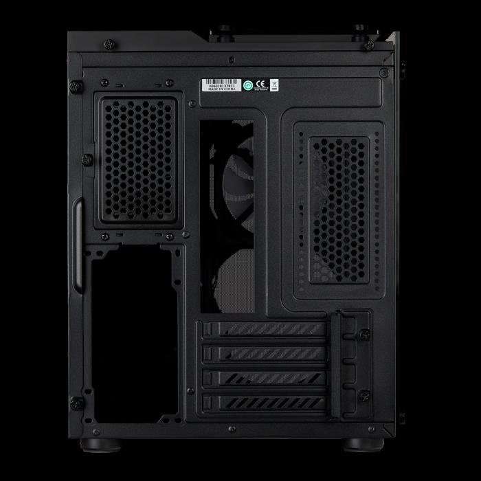 Carcasa Crystal Series 280X RGB Tempered Glass Micro ATX  — Negru 5