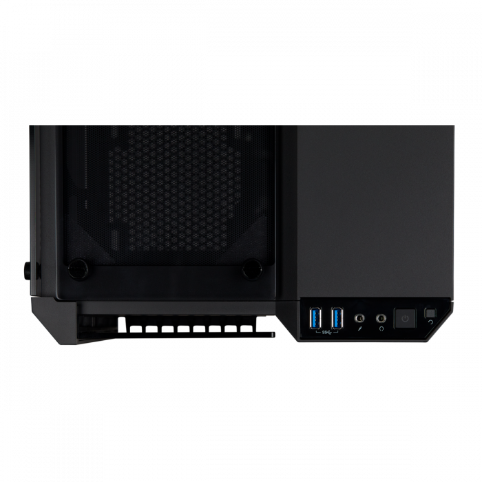 Carcasa Crystal Series 280X RGB Tempered Glass Micro ATX  — Negru [4]