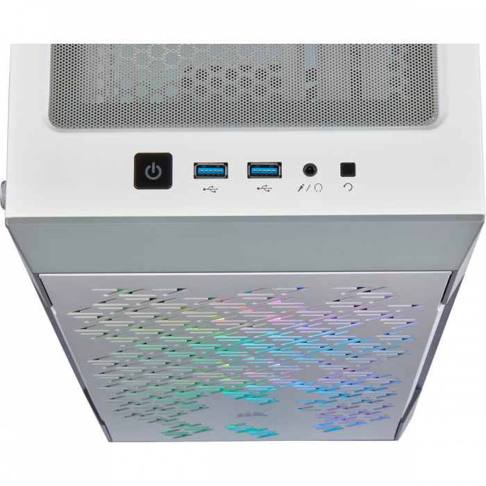Carcasa iCUE 220T RGB Airflow Tempered Glass Mid-Tower Smart  — Alb [4]