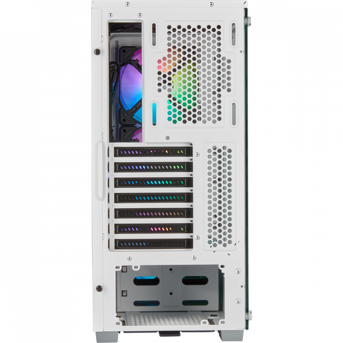 Carcasa iCUE 220T RGB Airflow Tempered Glass Mid-Tower Smart  — Alb [3]