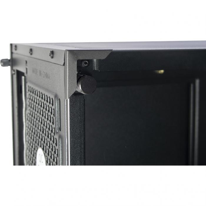 Carcasa Inter-Tech Cobweb neagra 12